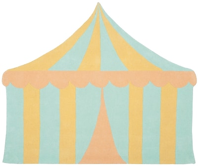 Martha Stewart Rugs Big Top Hand-Tufted Sea Glass Area Rug; 4'3'' x 5'6''