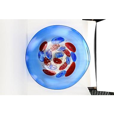 Diamond Star Glass Decorative Plate