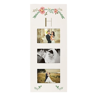 Latitude Run Floral Picture Frame; H