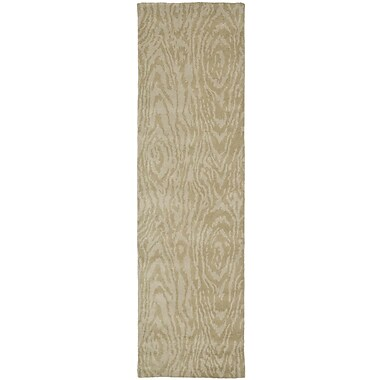 Martha Stewart Rugs Hand-Woven Potter's Clay Area Rug; Runner 2'3'' x 8'
