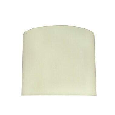 Aspen Creative Corporation 12'' Linen Drum Lamp Shade