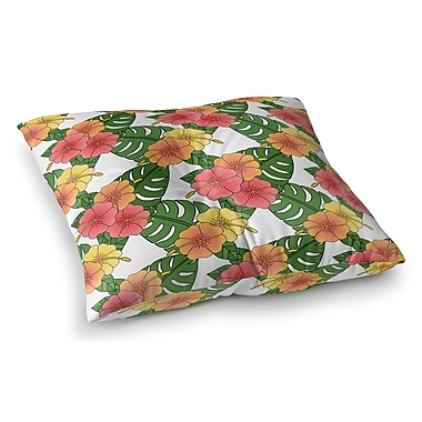 Bayou Breeze Omie Indoor/Outdoor Floor Pillow; 23'' H x 23'' W x 8'' D