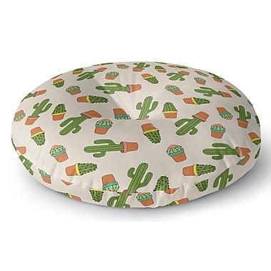 Brayden Studio Geter Indoor/Outdoor Floor Pillow; 23'' H x 23'' W x 8'' D