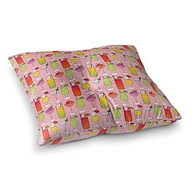 Brayden Studio Crooks Indoor/Outdoor Floor Pillow; 26'' H x 26'' W x 8'' D