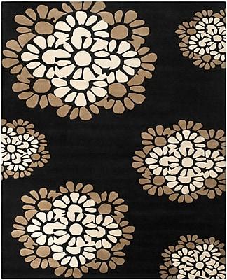 Martha Stewart Rugs Martha Stewart Hand-Tufted Black Area Rug; Rectangle 9'6'' x 13'6''
