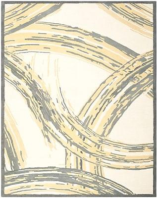 Martha Stewart Rugs Martha Stewart Hand-Tufted Cement Area Rug; Rectangle 8' x 10'