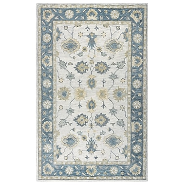 Darby Home Co Jelia Hand-Tufted Natural Area Rug; 5' x 8'