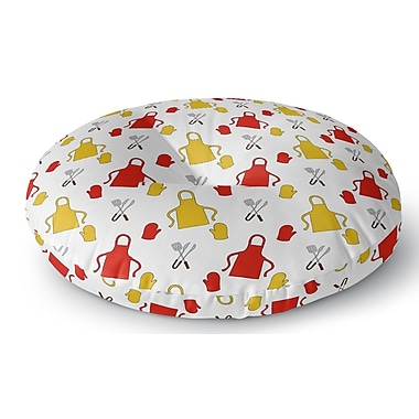 Latitude Run Ziva Indoor/Outdoor Floor Pillow; 26'' H x 26'' W x 8'' D