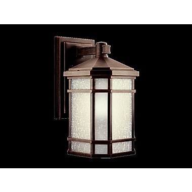 Loon Peak Robles 1-Light Outdoor Wall Lantern; 8'' W