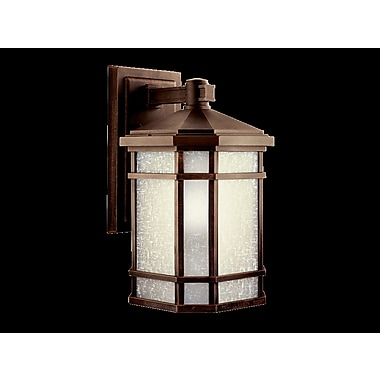 Loon Peak Robles 1-Light Outdoor Wall Lantern; 9.9'' W