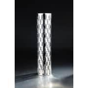 Diamond Star Glass Vase; 19.5'' H x 4.5'' W x 4.5'' D