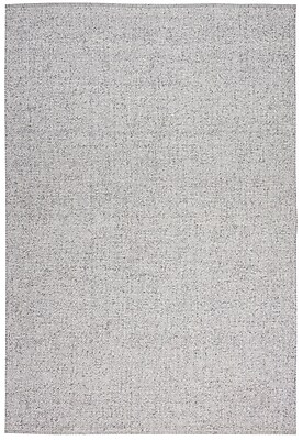 Calvin Klein Rugs Tobiano Hand-Loomed Silver Area Rug; 9' x 12'