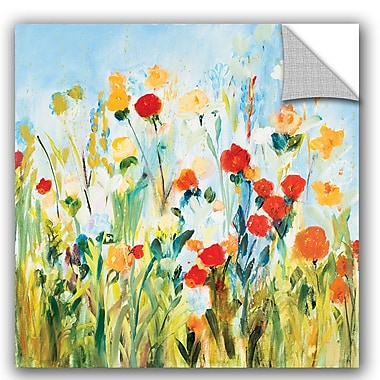 ArtWall Joan E Davis Wildflower Afternoon Wall Decal; 8'' H x 10'' W x 0.1'' D