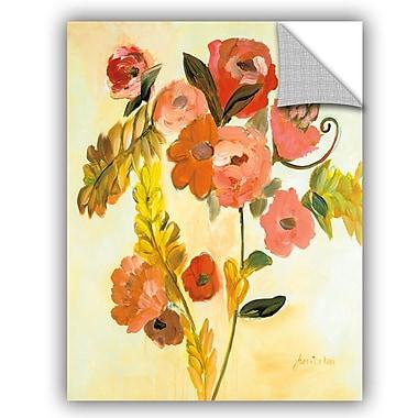 ArtWall Joan E Davis Romance Bouquet Wall Decal; 10'' H x 8'' W x 0.1'' D