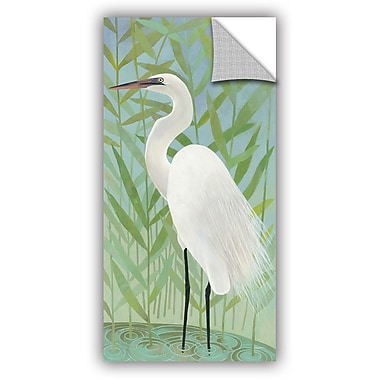 ArtWall Katherine Lovell Egret by the Shore II Wall Decal; 36'' H x 18'' W x 0.1'' D