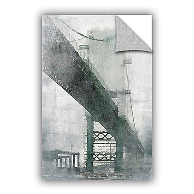 ArtWall Irena Orlov Bridge Wall Decal; 12'' H x 8'' W x 0.1'' D