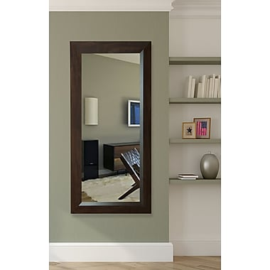Darby Home Co Rectangle Brown Walnut Tall Mirror