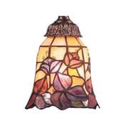 Fleur De Lis Living Antoinette 5.25'' Glass Bell Fan Fitter Shade