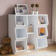 InRoom Designs 8 Shelf 33'' Cube Unit Bookcase