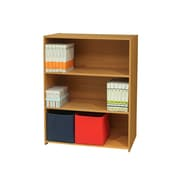 InRoom Designs 3 Tier 41'' Standard Bookcase; Light Brown