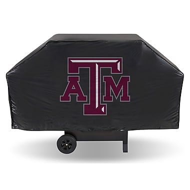Rico NCAA Economy Grill Cover Fits up to 68''; Texas A and M University Aggies