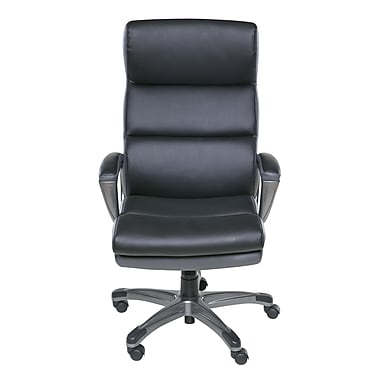 Symple Stuff High-Back Executive Chair; Black/Gray