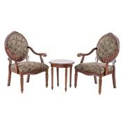 Astoria Grand Cornelli 3 Piece Armchair Set