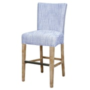 Breakwater Bay Ginevra  26'' Bar Stool w/ Cushion