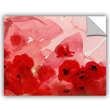 ArtWall Irena Orlov Watercolor Poppies Wall Decal; 14'' H x 18'' W x 0.1'' D