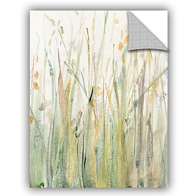 ArtWall Avery Tillmon Spring Grasses I Crop Wall Decal; 24'' H x 18'' W x 0.1'' D