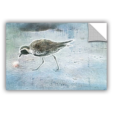 ArtWall Irena Orlov Beach Bird Wall Decal; 8'' H x 12'' W x 0.1'' D