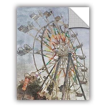ArtWall Irena Orlov a Ferris Wheel 1 Wall Decal; 18'' H x 14'' W x 0.1'' D
