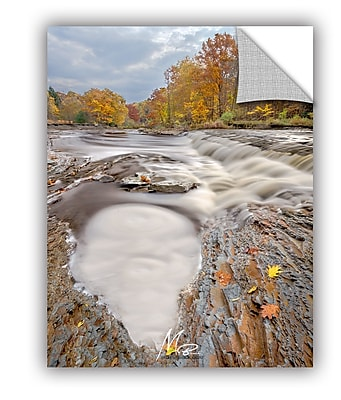ArtWall Michael Beach Frothy River Pool Wall Decal; 24'' H x 18'' W x 0.1'' D