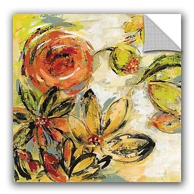 ArtWall Silvia Vassileva Floral Joy Wall Decal; 14'' H x 14'' W x 0.1'' D