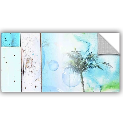 ArtWall Irena Orlov Blue on Blue Wall Decal; 6'' H x 12'' W x 0.1'' D