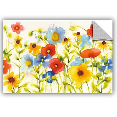ArtWall James Wiens Americana Meadow I Crop Wall Decal; 32'' H x 48'' W x 0.1'' D