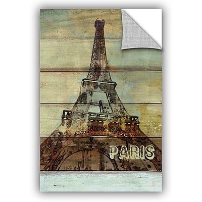 ArtWall Irena Orlov Paris La Tour Eiffel Wall Decal; 36'' H x 24'' W x 0.1'' D