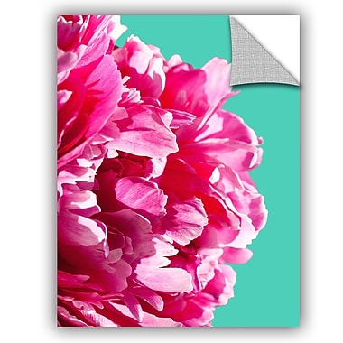 ArtWall Lexie Greer Pink Peony Wall Decal; 48'' H x 36'' W x 0.1'' D