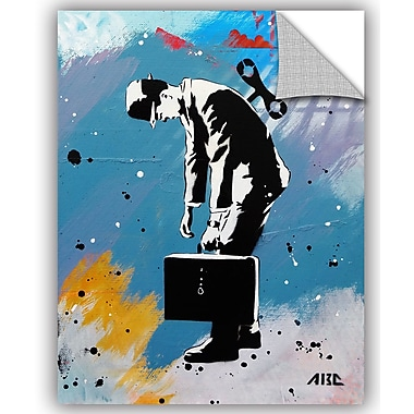 ArtWall ABC Art Attack Windup for the Wind Down Wall Decal; 48'' H x 36'' W x 0.1'' D