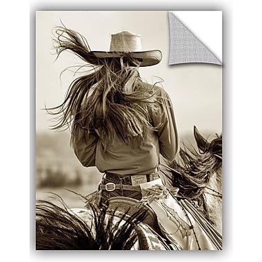 ArtWall Lisa Dearing Cowgirl Wall Decal; 24'' H x 18'' W x 0.1'' D