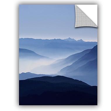 ArtWall Lexie Greer Blue Mountains Wall Decal; 24'' H x 18'' W x 0.1'' D