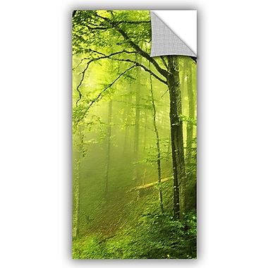 ArtWall Scott Medwetz Brush Creek Forest Wall Decal; 36'' H x 18'' W x 0.1'' D