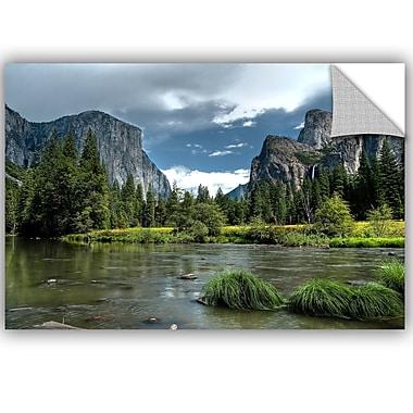 ArtWall Tim Oldford Yosemite Wall Decal; 8'' H x 12'' W x 0.1'' D