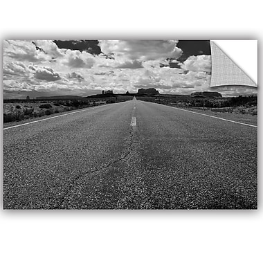 ArtWall Tim Oldford Monument Valley Road Wall Decal; 8'' H x 10'' W x 0.1'' D