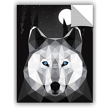 ArtWall Davies Babies Tundra Wolf Wall Decal; 32'' H x 24'' W x 0.1'' D