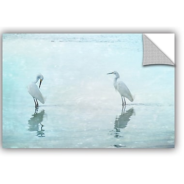 ArtWall Hannes Cmartis White Cranes Wall Decal; 8'' H x 12'' W x 0.1'' D