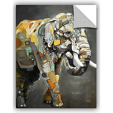 ArtWall Britt Freda Asian Elephant Wall Decal; 10'' H x 8'' W x 0.1'' D