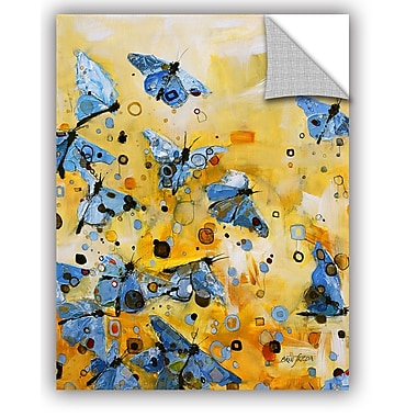 ArtWall Britt Freda Metamorphosis Yellow Wall Decal; 18'' H x 14'' W x 0.1'' D