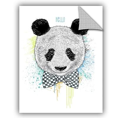 ArtWall Rachel Caldwell Hello Panda Wall Decal; 32'' H x 24'' W x 0.1'' D