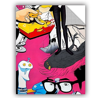ArtWall Colourblind Suicide She's Got the Look Wall Decal; 10'' H x 8'' W x 0.1'' D